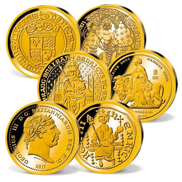 'Great British Gold Replicas' Set UK_2160421_1
