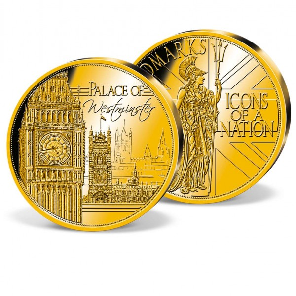 'Palace of Westminster' Commemorative Gold Strike UK_2880256_1