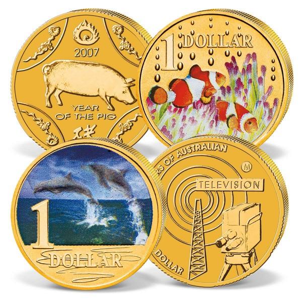 4 coin set Australian Dollar UK_2730299_1