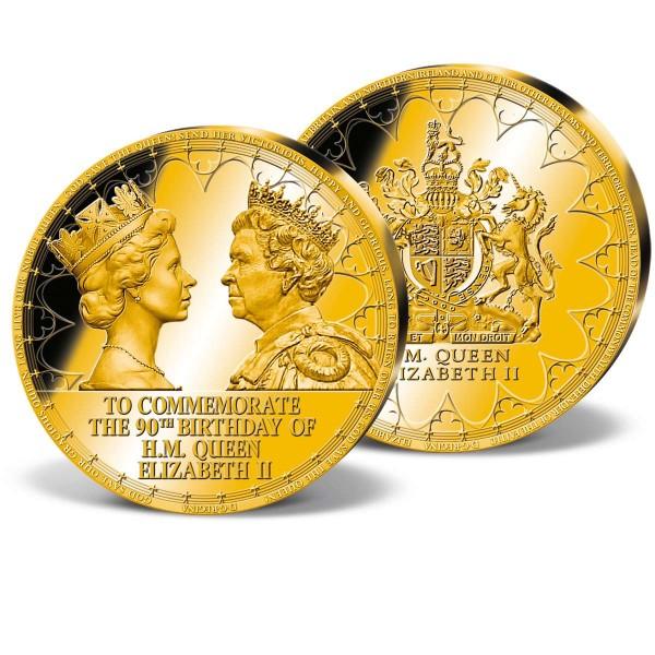 'Queen Elizabeth II - 90th Birthday' Ultra-lage Commemorative Strike UK_9173171_1