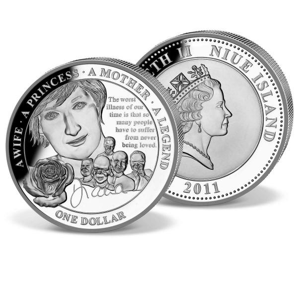 Official 'Princess Diana Anniversary Dollar' UK_1683010_1