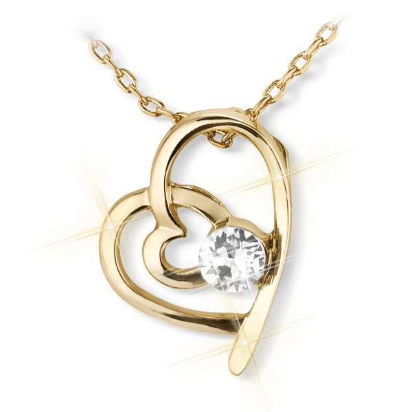'Two Hearts' necklace UK_3008880_1