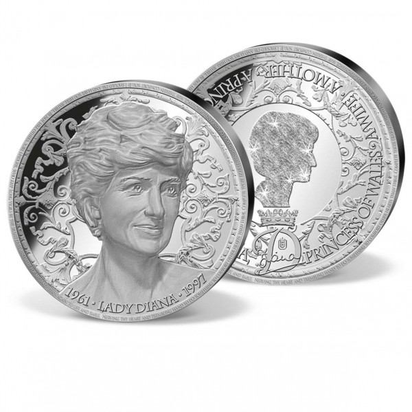 'Portrait of a Princess' Strike in Solid Silver UK_9442130_1