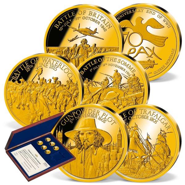 'History of Britain' Commemorative Gold Set UK_8351307_1