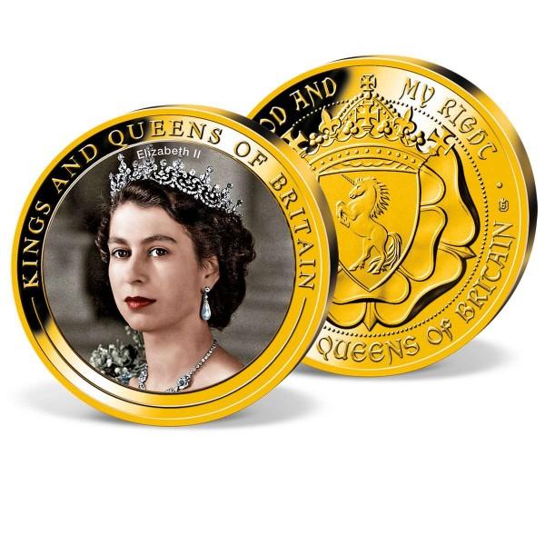 'Queen Elizabeth II' Commemorative Strike UK_1952049_1