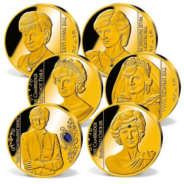 'Diana - Her life in Jewels' Commemorative Strike Set UK_1950637_1