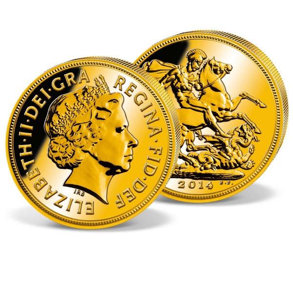 2013 'Elizabeth II' Gold Sovereign UK_2460041_1