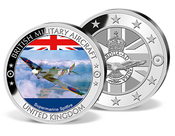 'Supermarine Spitfire Colour' Commemorative Strike