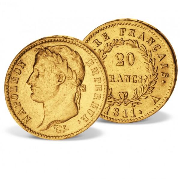 'Napoleon I 20 Francs' Gold Coin 1807-1814 UK_2460242_1