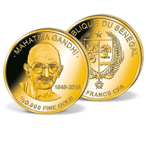 'M. Gandhi' Official Gold Coin UK_1739084_1