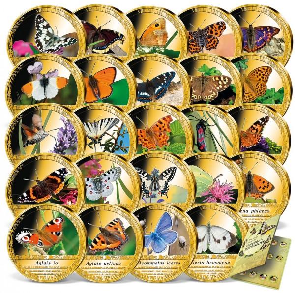 'Europe's Most Beautiful Butterflies' Complete Set UK_1961130_1