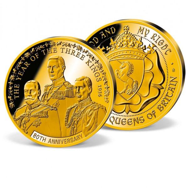 'Three Kings - 80th Anniversary' Commemorative Strike UK_1951120_1