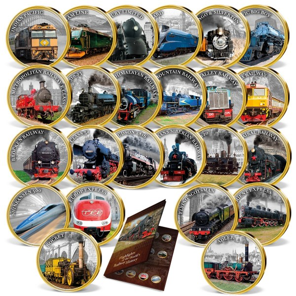 'The History of the Railway' Complete Set UK_1954530_1