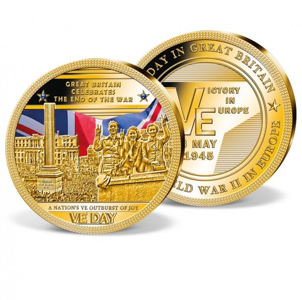 '75th Anniversary of VE-Day' commemorative strike UK_9445701_1