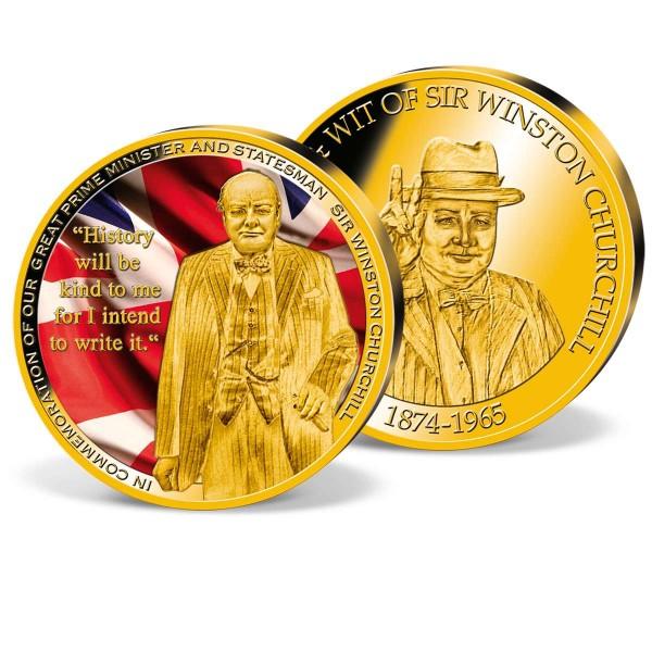'Winston Churchill 50th Death Anniversary' Commemorative Strike UK_1720235_1