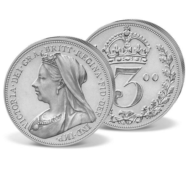 Queen Victoria - 3 Pence UK_2424019_1