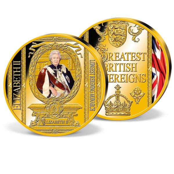 'Queen Elizabeth II - Longest Reigning Monarch' Commemorative Strike UK_8206104_1