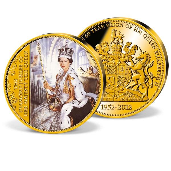 'Coronation of Elizabeth II.' Commemorative Colour Strike UK_1953120_1