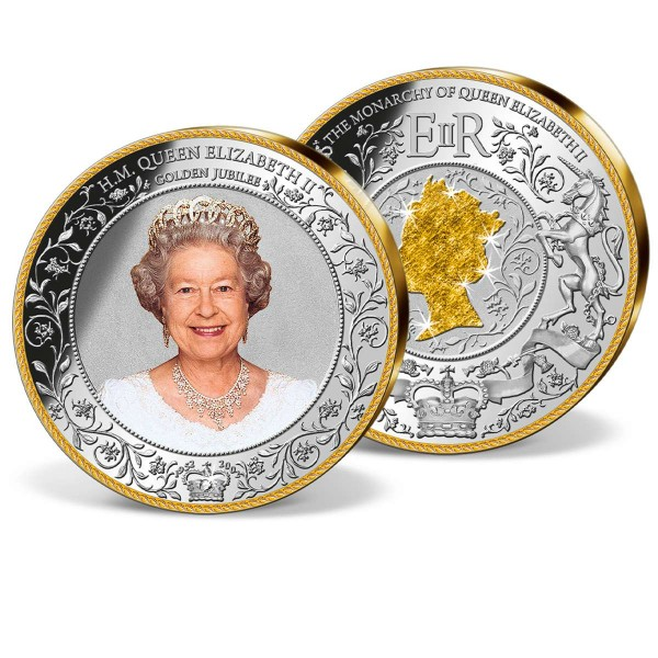 'The Golden Jubilee of Queen Elizabeth II' Supersize Commemorative Strike UK_1950953_1