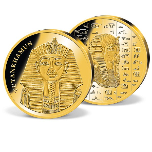 'Pharao Tutankhamun' Commemorative Gold Strike UK_2160152_1