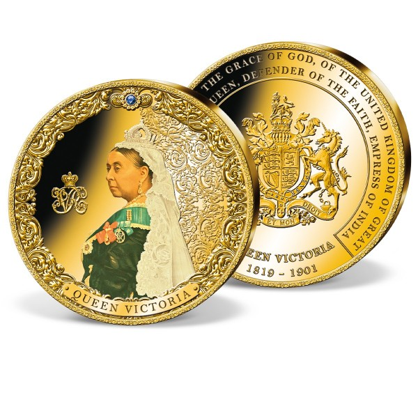 'Queen Victoria' Supersize  Commemorative Strike UK_9174261_1