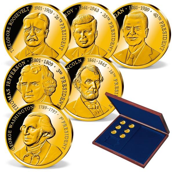 The 'Greatest U.S. Presidents' Commemorative Gold  Set UK_1711613_1