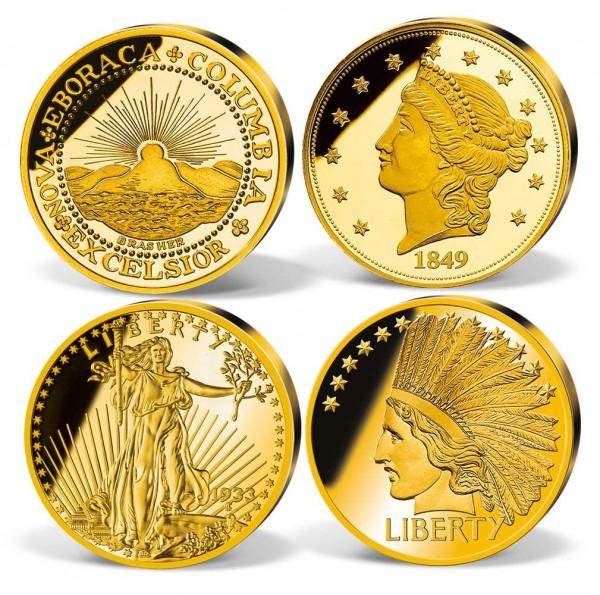 '50 Million Dollar Gold Coin' Replica Set UK_8200997_1