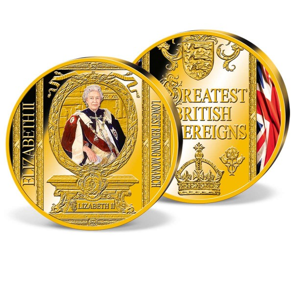 'Queen Elizabeth II - Longest Reigning Monarch' Commemorative Strike UK_8206104_1