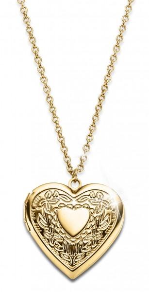 'Heart' Locket Necklace UK_3009501_1