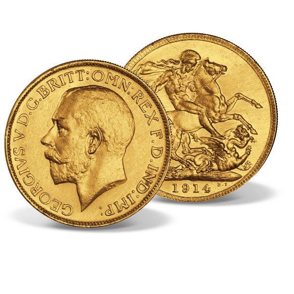 'George V' Gold Sovereign 1911-1925 UK_2460054_1