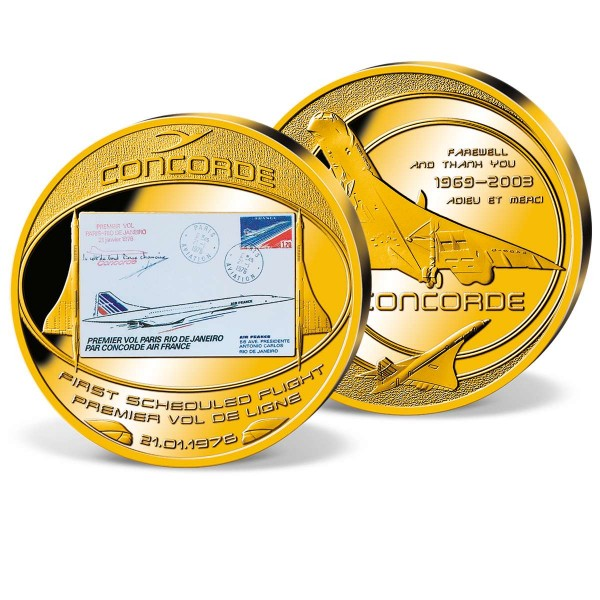 'Concorde - the first mission' Supersize Commemorative Strike UK_1953208_1