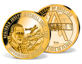 'Supermarine Spitfire' Commemorative Gold Strike